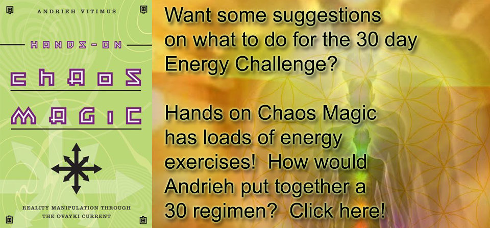 Hands on Chaos Magic Energy Excercises - Do Magick