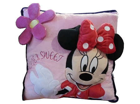 disney throw pillow minnie mouse 3d cute sweet blank p