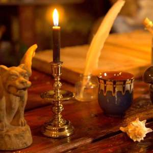 Learn more about black chime candles