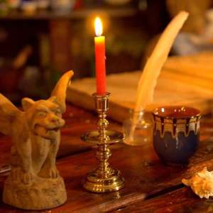Learn more about red chime candles