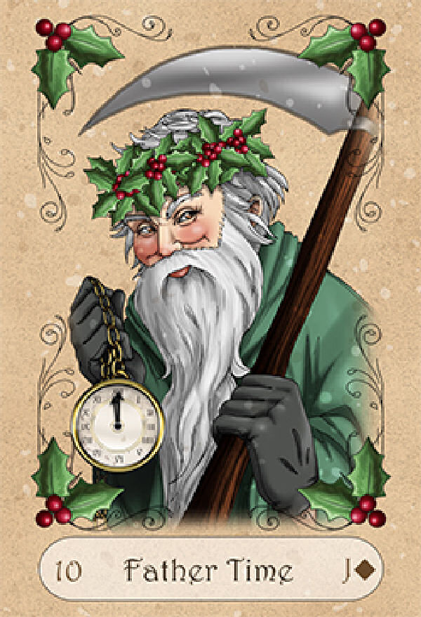 Yule Lenormand Tarot Deck Self Published By Kendra