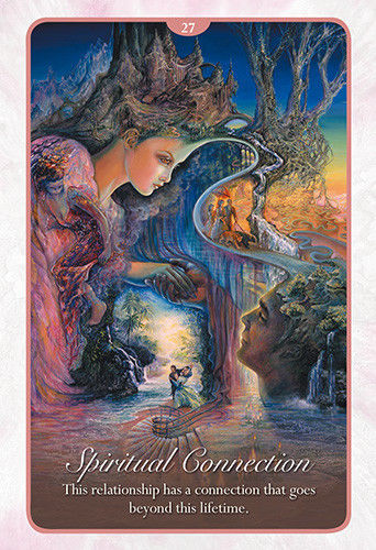 Whispers Of Love Tarot Oracle Cards By Josephine Wall And Angela Hart ATWOL