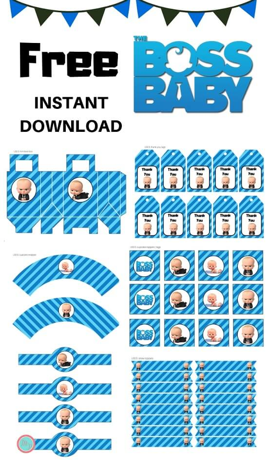 photo relating to Boss Baby Printable identified as Freebies - Magical Printable