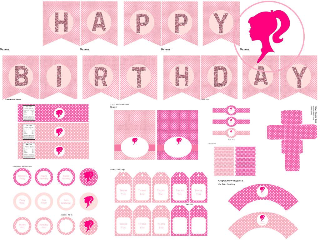 Barbie Birthday Pack