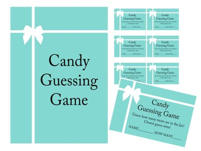 Tiffany Baby Shower Game Pack