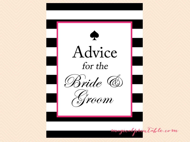 Kate Spade Inspired Bridal Shower Games