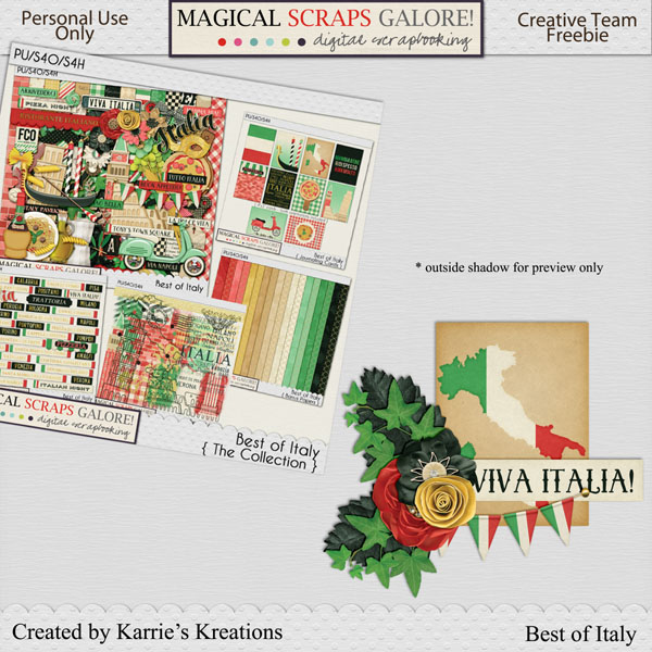 New this week: BEST OF ITALY! {plus 2 clusters to share!}
