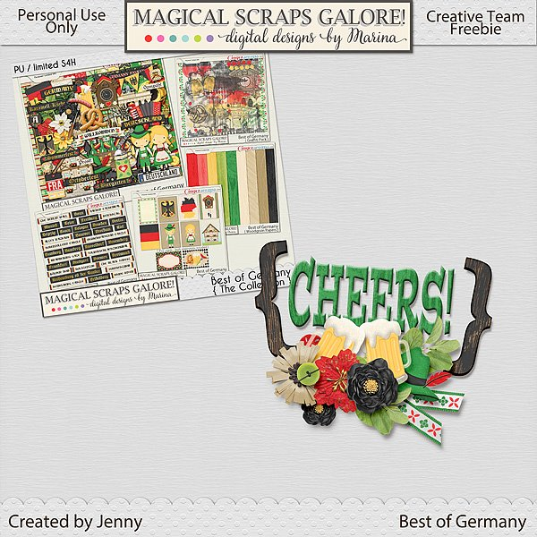 New collection: BEST OF GERMANY, plus an awesome freebie!