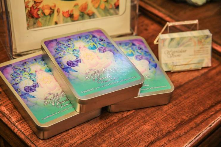 Self-Love Oracle Decks at the Launch