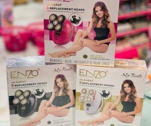 جهاز نزع الشعر الجديد و المبتكر Enzo Professional للنزع الفوري وغير المؤلم للشعر
