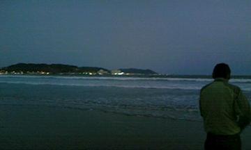 由比ヶ浜の海 其の壱
