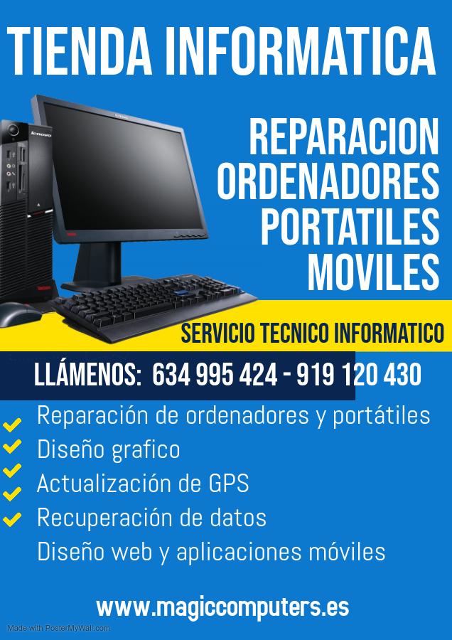 Mantenimiento informático para empresas en Sanagus