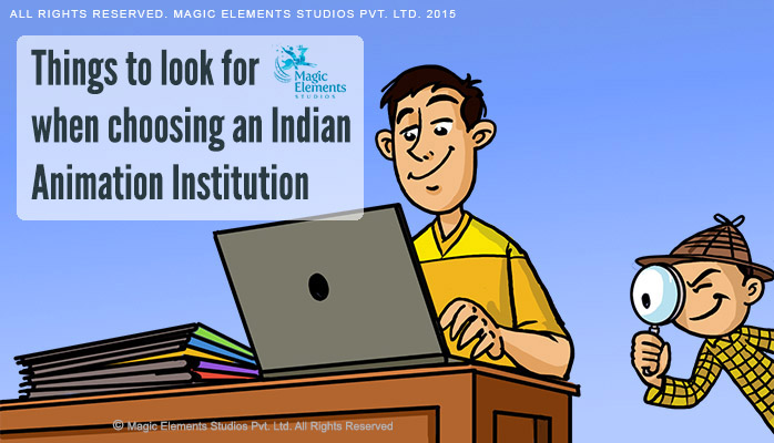 Choosing Indian Animation Institutions