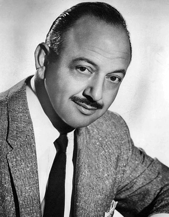 Mel Blanc in 1959, voice of Bugs Bunny and thousands of other animated characters