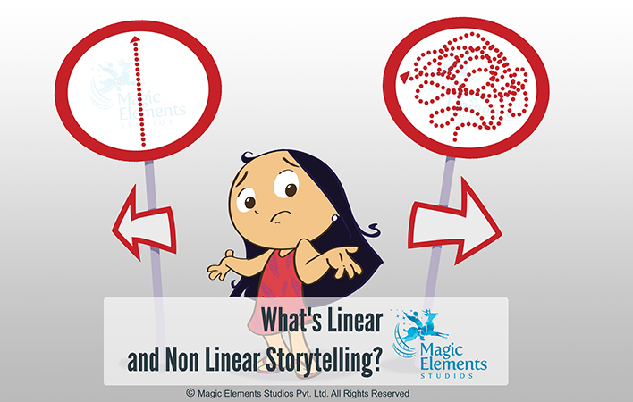 What is Linear and Non Linear Storytelling?