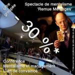 Offre conference et spectacle de mentalisme