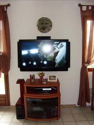 Blog de magicmanu :Aménagement de notre maison, Installation TV LCD et Home Cinema au mur