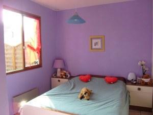Blog de magicmanu :Aménagement de notre maison, Peinture de la chambre