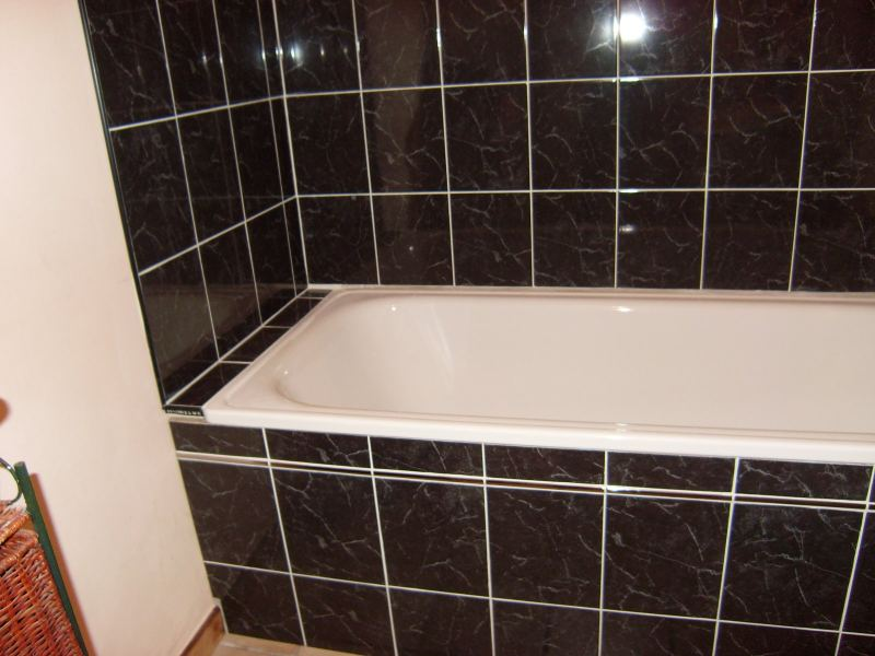Carrelage de baignoire