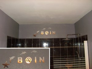 Blog de magicmanu :Aménagement de notre maison, Déco murale salle de bain