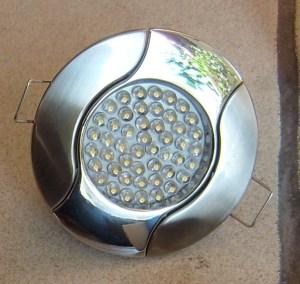 Spots à LED du plafond