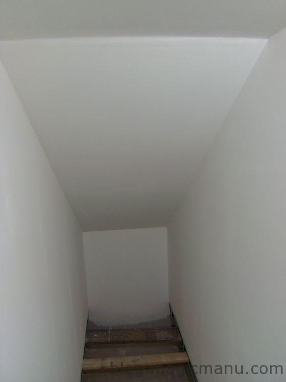 En attente de l'escalier