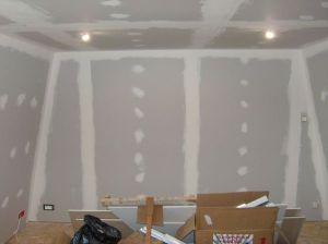 Blog de magicmanu :Aménagement de notre maison, Joints (bandes) placo chambre