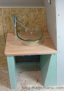 Meuble sous vasque et WC