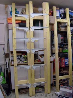 Blog de magicmanu : Aménagement de notre maison, Rangement dans le garage
