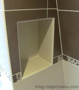 Blog de magicmanu : Aménagement de notre maison, Niche de douche
