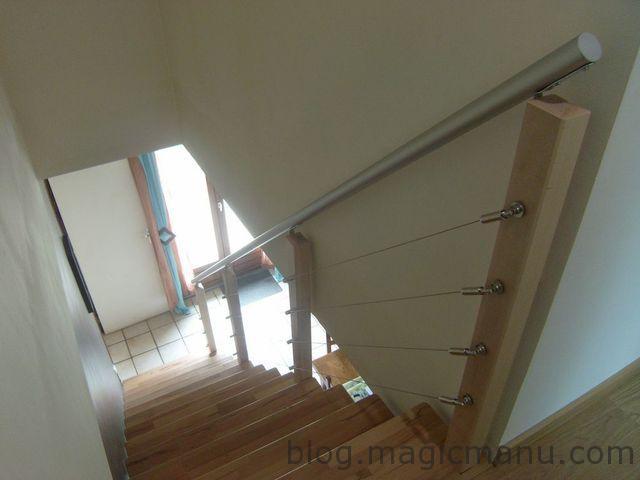 comment fabriquer une rampe d escalier moderne magicmanu. Black Bedroom Furniture Sets. Home Design Ideas
