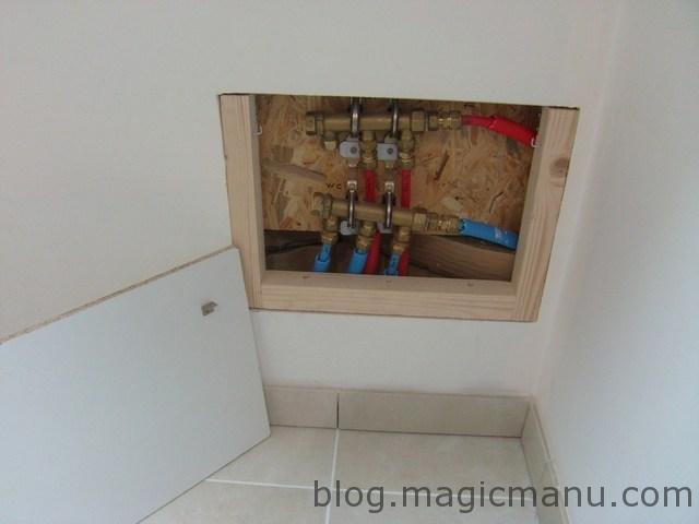 Trappe d'accès plomberie