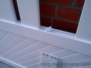 Blog de magicmanu : Aménagement de notre maison, Portail coulissant : l'assemblage