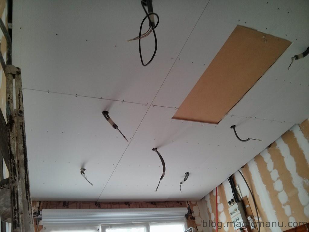 Plafond cuisine