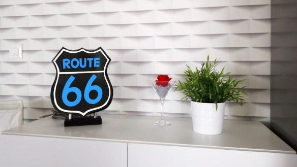 Urne Lumineuse Route 66