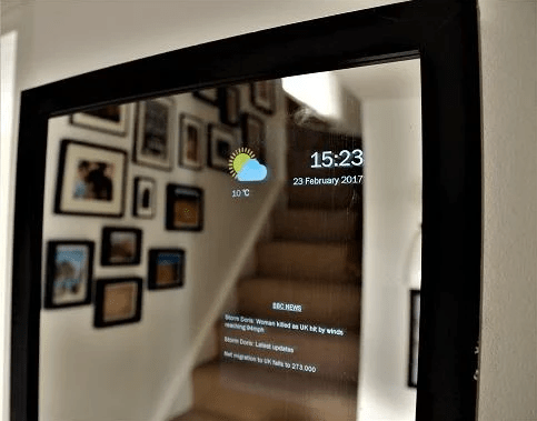 These are the android apps you can use for your magic mirror for Raspberry miroir