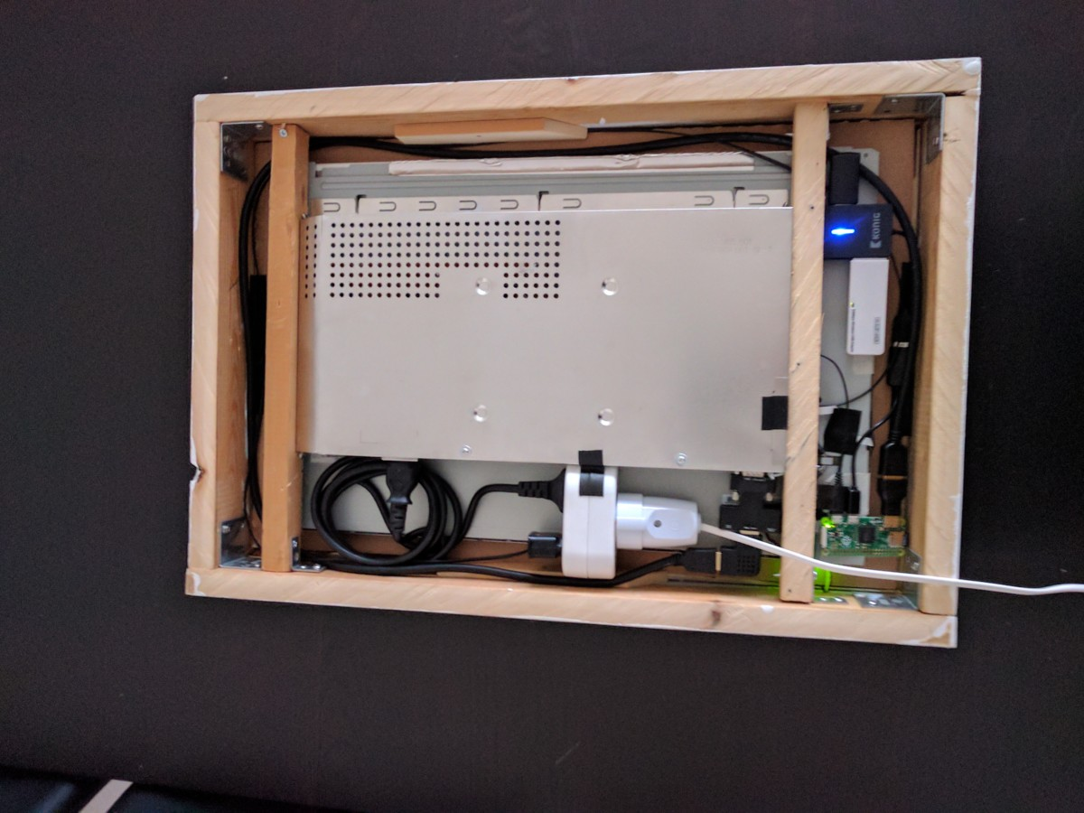 raspberry pi magic mirror build log how to make one from scratch