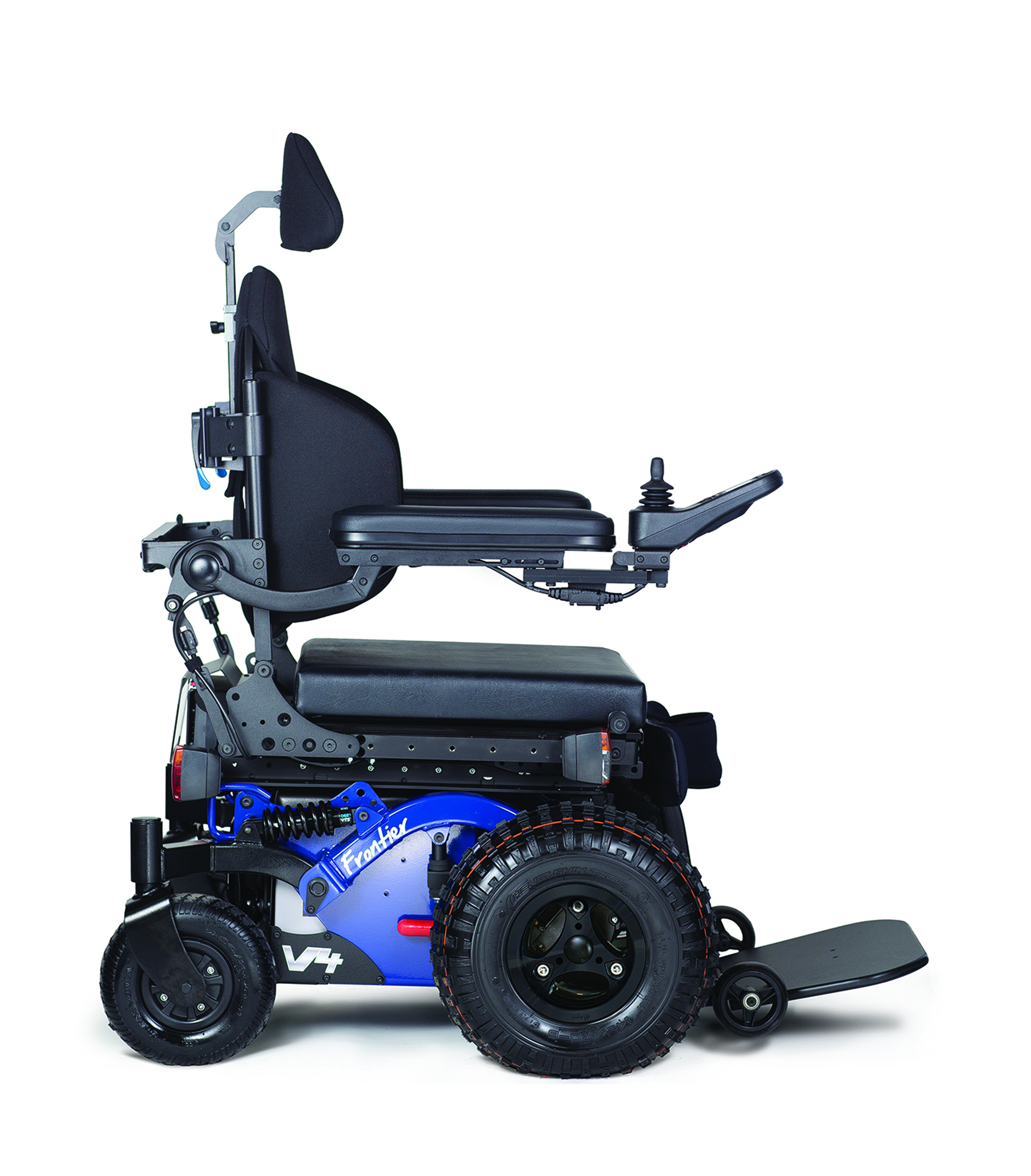 Frontier V4 Off Road FWD Electric Wheelchair Magic