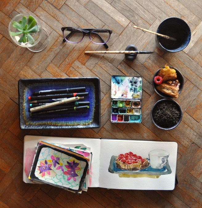 Store your creative ideas, How to be creative, tips. Your artistic journey