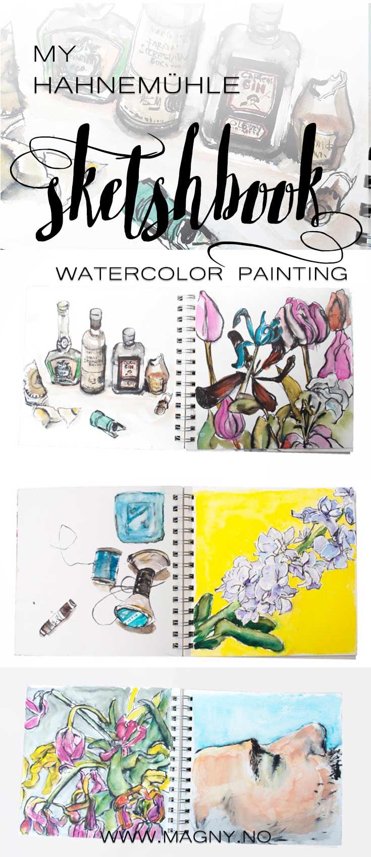 HAHNEMÜHLE watercolor paper