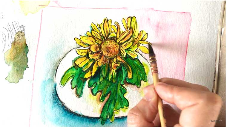 Get a free color course now just follow the link. For Artists the color wheel is the best tool to understand the colors that we see around us and they are often used on a regular basis as a tool to mix, find, and pick colors. water soluble markers from LYRA
