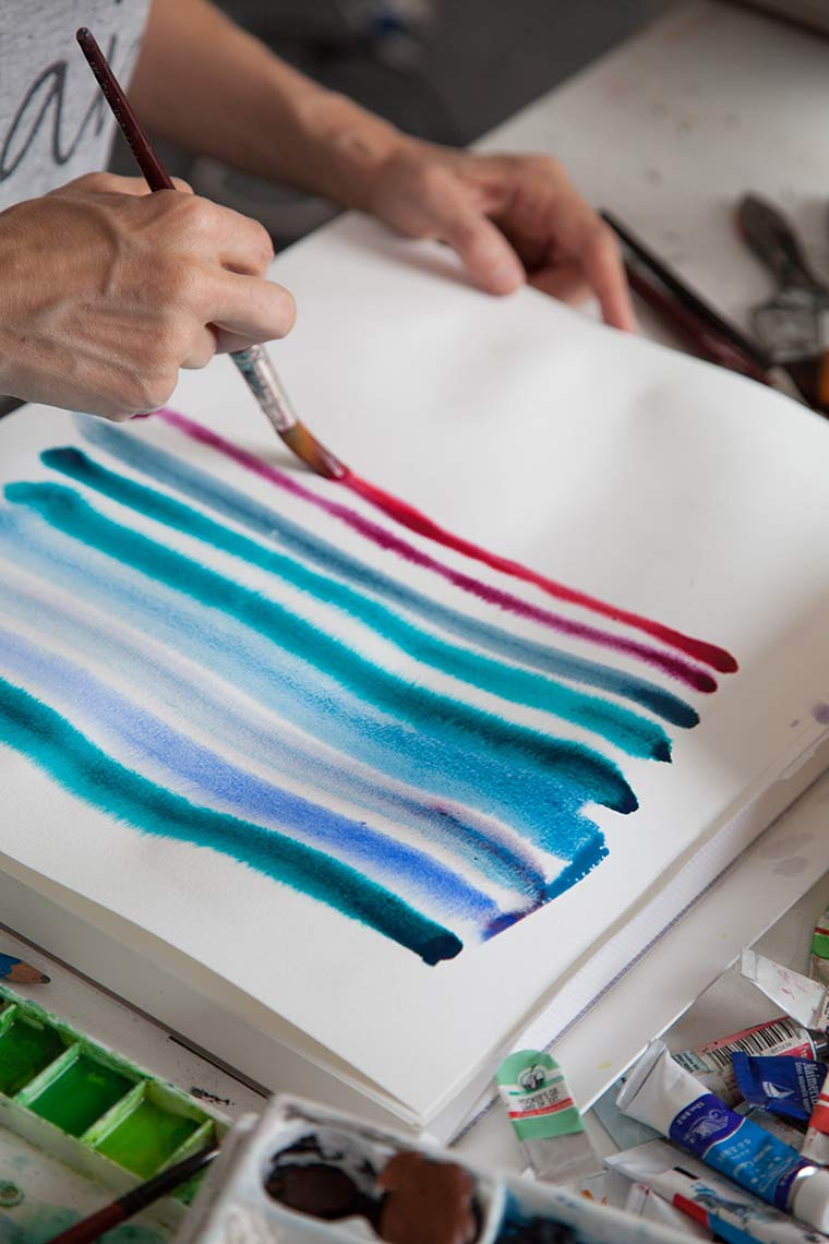 Color Psychology For Artists: Photo: Jeanette Nilssen.