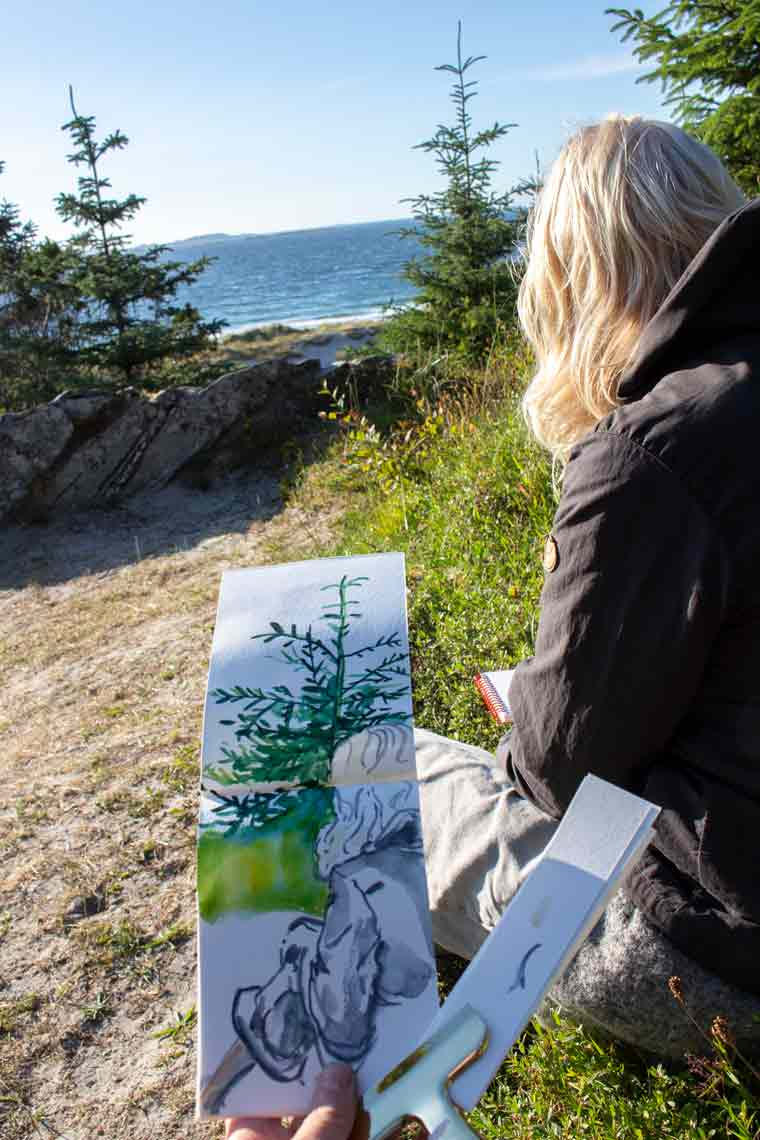 4 hot tips for sketching outside .watercolor landscapes, watercolor tree, watercolor flower, watercolor floral, watercolor techniques, watercolor sketch, watercolor earth watercolor illustration, stavanger norway travel norway, norway in a nutshell sketching and drawing sketching tips, sketchbook ideas, sketchbook inspiration sketchbook inspiration ideas sketchbook project, diy sketchbook creative sketchbook ideas artist ideas, artist inspiration, artist tips