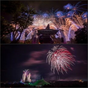 (August 2014 Trip Report) A Double-Dose of Fireworks