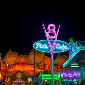 (August 2015 Trip Report) A Visit to Old Hollywood and Radiator Springs