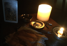 white candle love spell