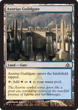 Azorius Guildgate From Dragon S Maze Spoiler