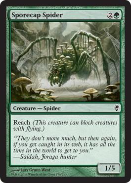 Sporecap Spider from Conspiracy Spoiler
