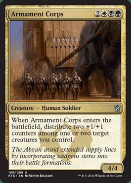 Abzan Clan Cards Magic Spoiler Latest MTG Visual Spoilers