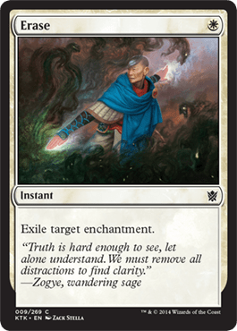 Erase From Khans Of Tarkir Spoiler